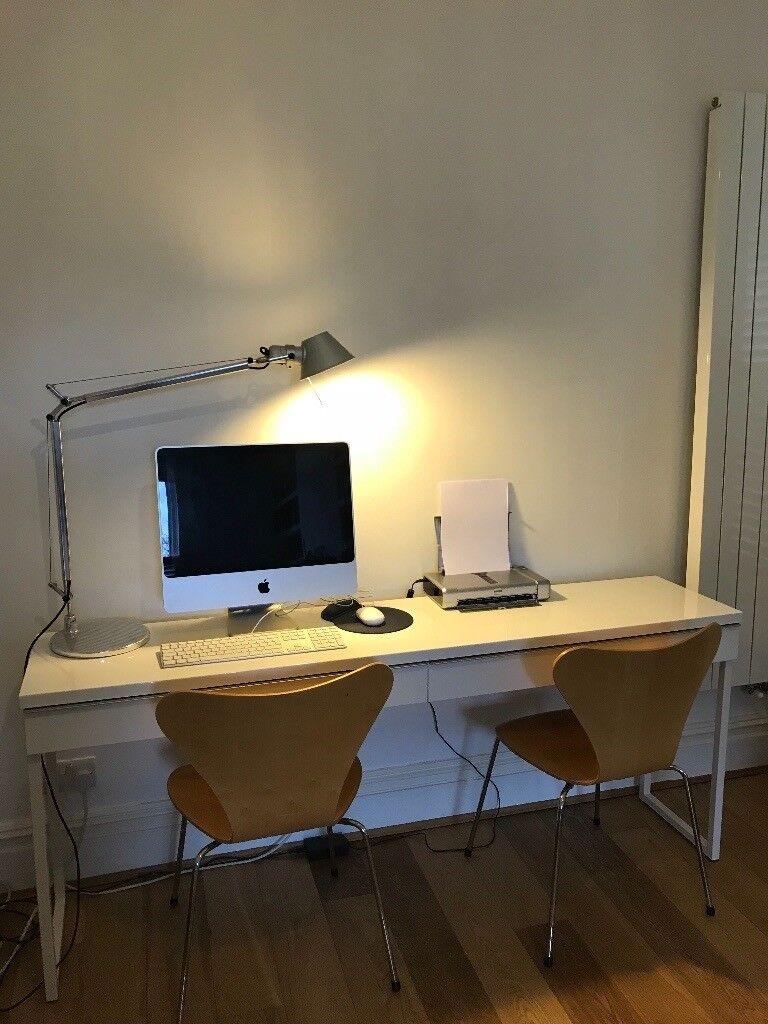 Gloss White Desk Teacher Desk Ideas