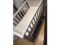 Rocking mothercare crib