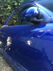 Mg ZR solid clean doors in JGY Blue.