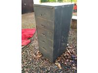 6 drawer steel storage unit