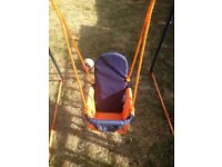 Hedstorm folding toddler swing