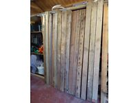 reclaimed softwood timber