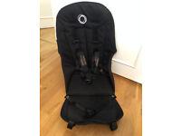 Bugaboo Cameleon 3 seat fabric black; Putney SW15