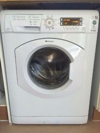 54 Hotpoint WMD740 7kg 1400 Spin White LCD A Rated Washing Machine 1 YEAR GUARANTEE FREE DEL N FIT