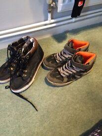 Size 5 older boys shoes