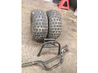 Suzuki lt50 quad parts tyres