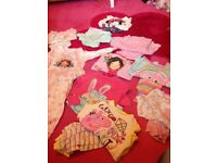 Bundle of girls pyjamas age 2-3
