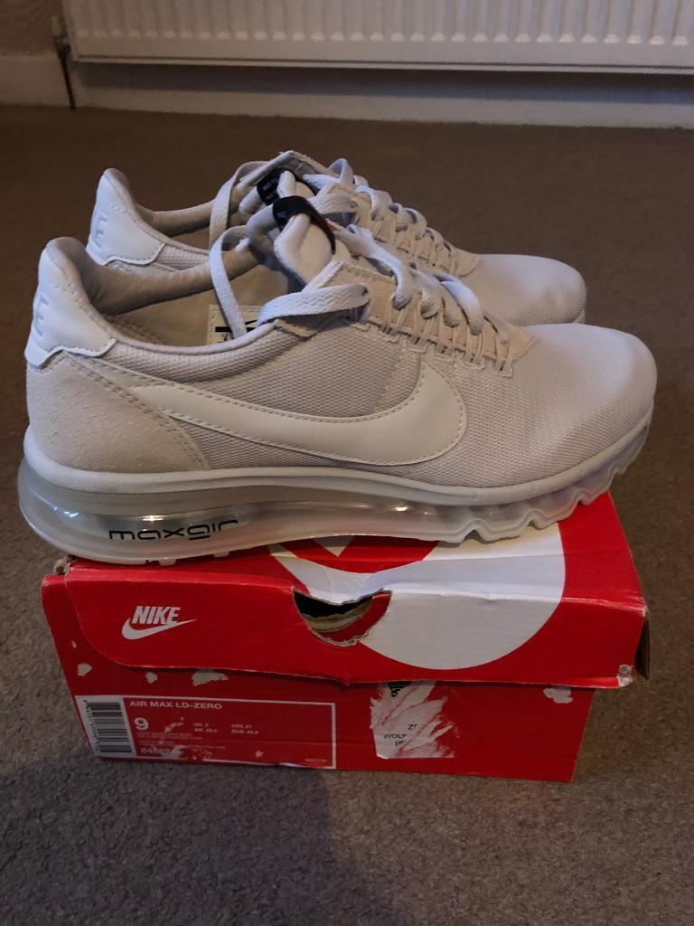 fa8399ba9d49 New in box Nike Air Max LD Zero light bone size UK8 £50