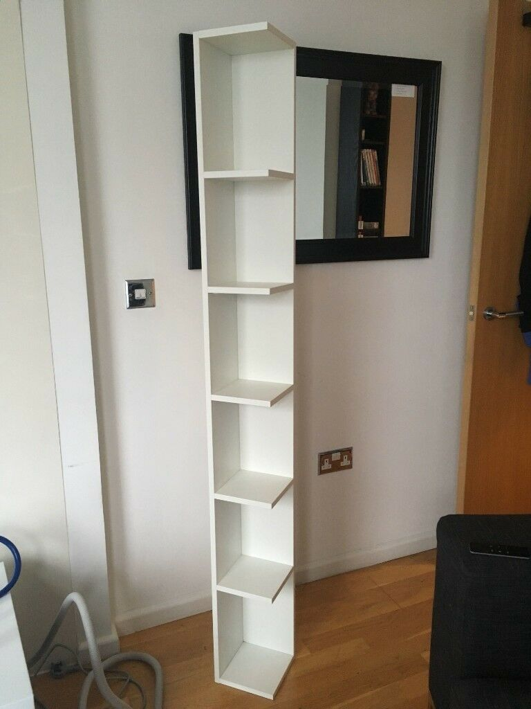 competitive price 035f4 44998 Ikea white corner shelf - (LILLÅNGEN end unit only) | in Canary Wharf,  London | Gumtree