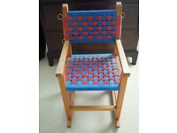 Wooden Rocking Chair~ Hand Made ~