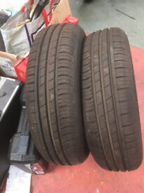 Hankook 155/65 14 summer tyres