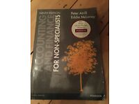Accounts & Finance Nineth Edition Book