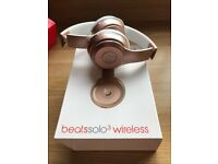 New unused in box Dre beats wireless solo3 headphones