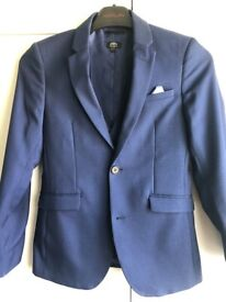 Beautiful boys blue suit worn once
