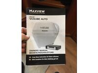 Maxview Vuqube Auto portable 12 volt satellite system for boat, motorhome etc