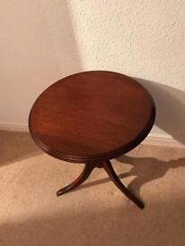 Mahogany Style Table (used as a table lamp)