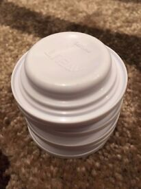 New never been used set of 6 Philips Avent bottle lids