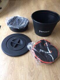 Fishing Frenzee bait bucket set new