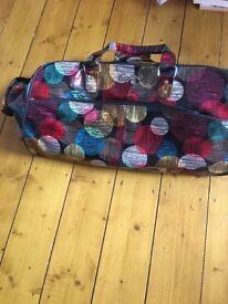 Rocky retro style luggage