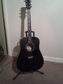 Eastwood Acoustic guitar black