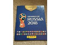 Panini World Cup album and stickers for sale