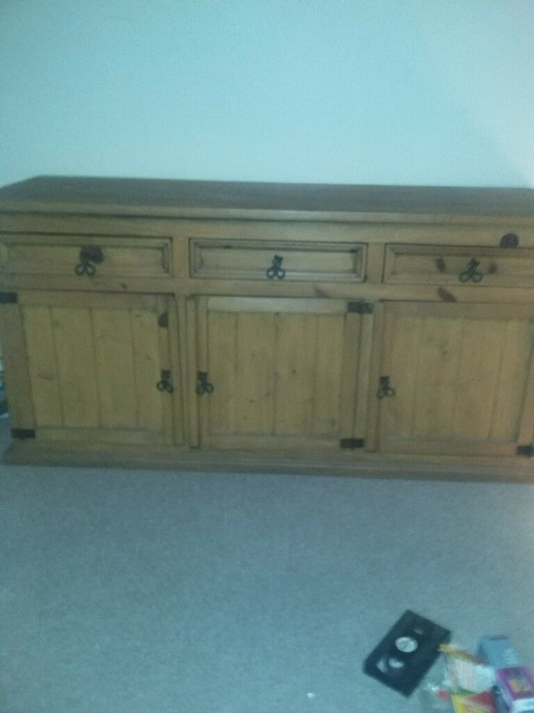 Solid Wood Living Room Unitin Angus Side Unit This Was Bought