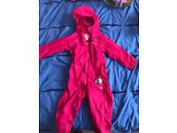 Regatta girls puddle suit age 2-3