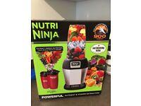 Nutri Ninja Professional Bullet Blender, 900 WATTS, powerful nutrient & vitamin extraction