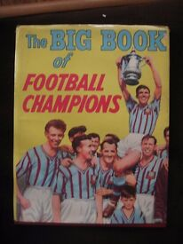 """Vintage 1956 Football Book """"The Big Book of Football Champions"""""""
