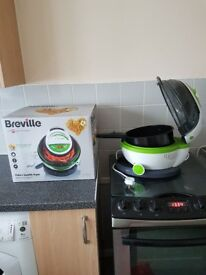Breville Halo + health fryer. Used once! Like new!