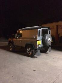 Land Rover Defender 90 300 tdi won't find one like it nut and bolt rebuild