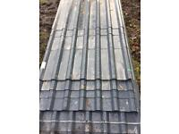Box profile roofing 3mtrs x1mtrs grey