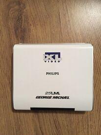George Michael Original '25 Live tour' Dvd Player