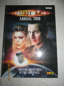 Dr Who Annuals 2006-2017