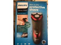 Phillips wet & dry shaver 3000