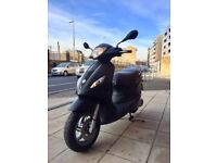 BARGAIN PIAGGIO FLY 125 2014 MATT BLACK