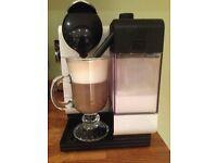 Nespresso Lattissima Coffee Machine by De'Longhi, (espresso, cappuccino, latte &manymore!)