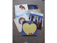 SELECTION OF MIDDLE OF THE ROAD 80s VINYL