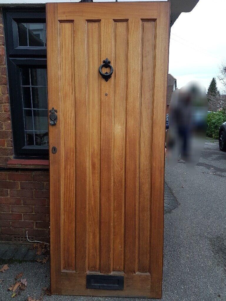 External door solid wood | in Epsom, Surrey | Gumtree on
