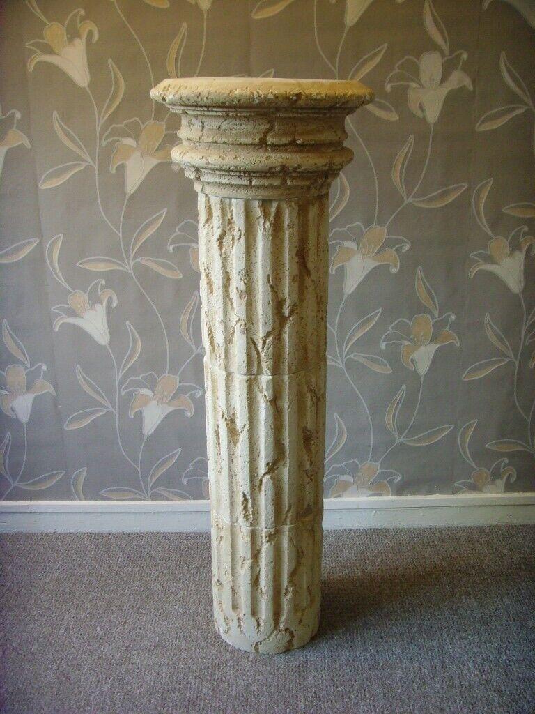 Roman Style Column Garden Plant Pedestal Stand Can