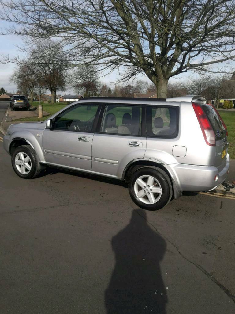 2004 nissan x trail towing capacity