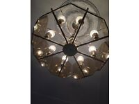 Gold plated Light shade