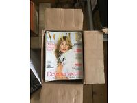 FREE Vogue magazines