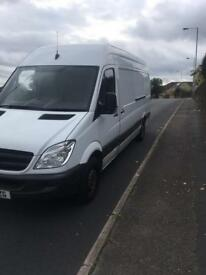 Mercedes sprinter lwb high roof