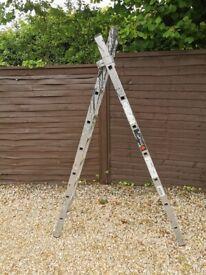 Work platform / ladder
