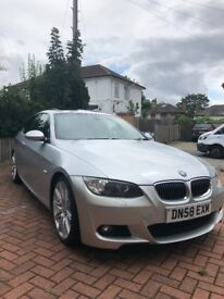 BMW 3 SERIES 325d M Sport 2dr Auto +SAT NAV+LEATHER+19&; ALLOYS+ NEW MOT