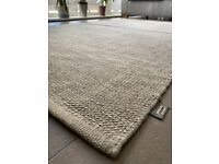 Large grey Papilio rug for sale