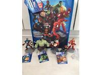 Disney infinity marvel avengers figures & playset