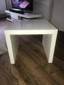 Solid High White Gloss Table
