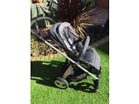 Sola² MTX Pushchair - Blue Denim